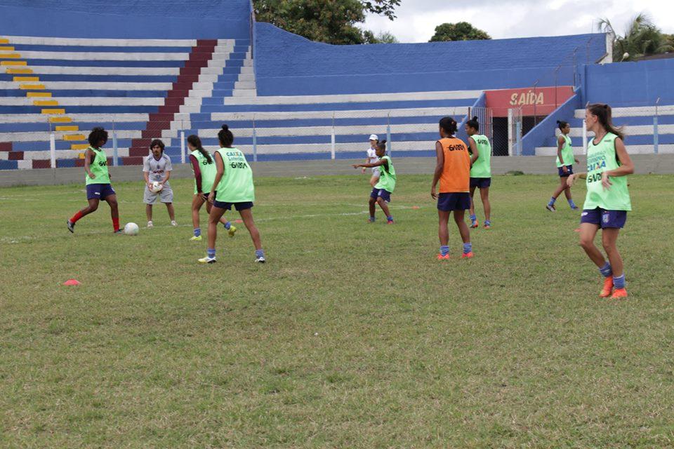 Vitória segue na preparação para o Campeonato Brasileiro Feminino