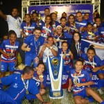 Vitória conquista invicto o heptacampeonato pernambucano de futebol feminino