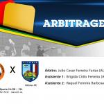 Arbitragem - UDA/AL x Vitória/PE